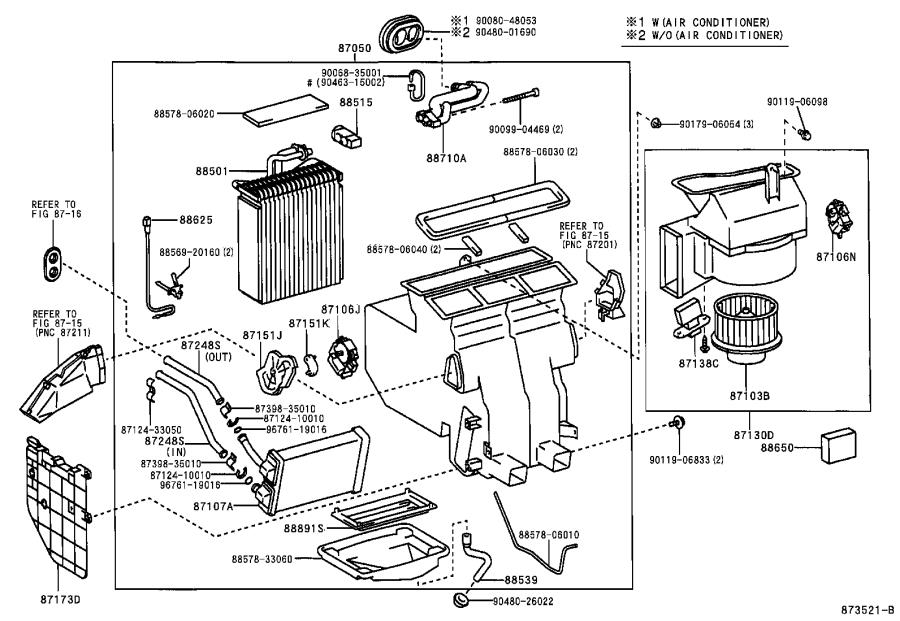 Toyota Solara Amplifier assembly. Air conditioner, no. 1