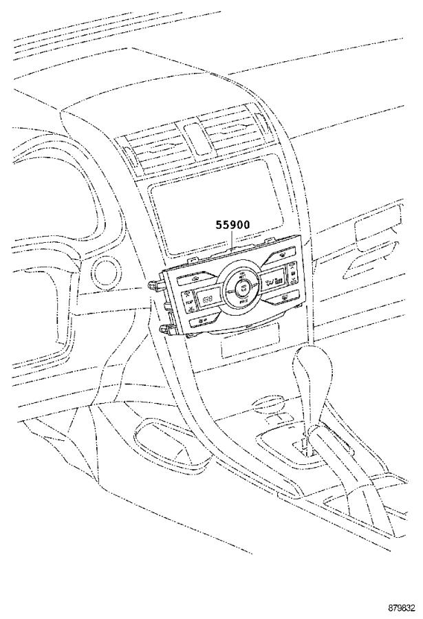 2010 Toyota Corolla Hvac blower control cable. Cable