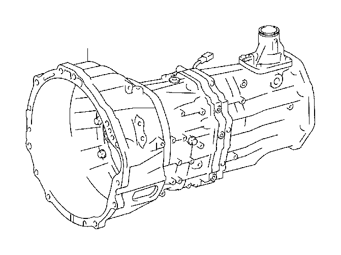 Toyota Tacoma Transmission unit assembly, manual