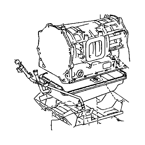Toyota Land Cruiser Pan sub-assembly, automatic