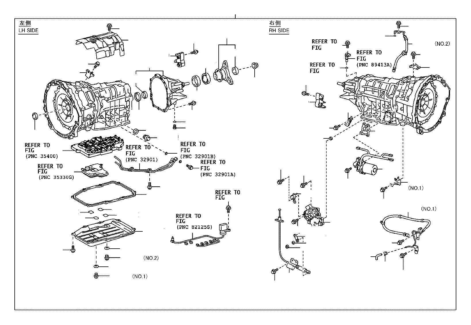 Toyota Previa Parts Diagram