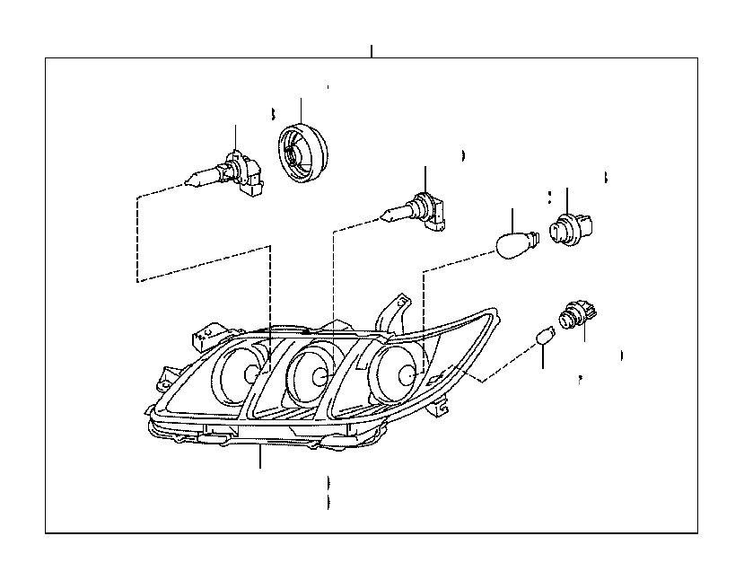 2017 Toyota Tacoma Socket; socket & wire; socket and wire