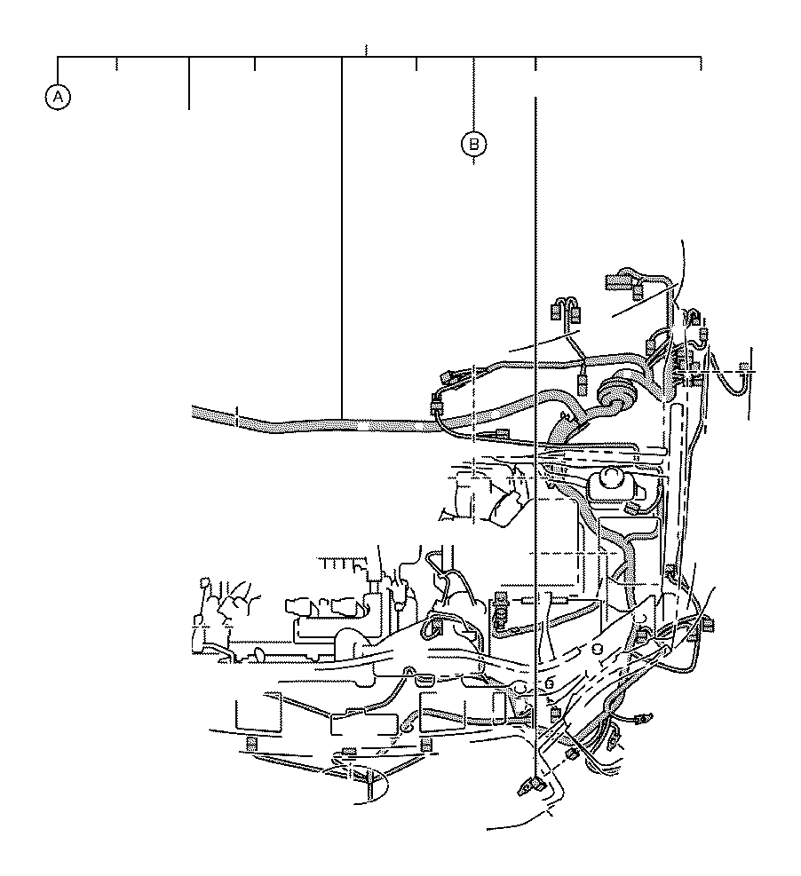 2011 Toyota Highlander Connector, wiring harness