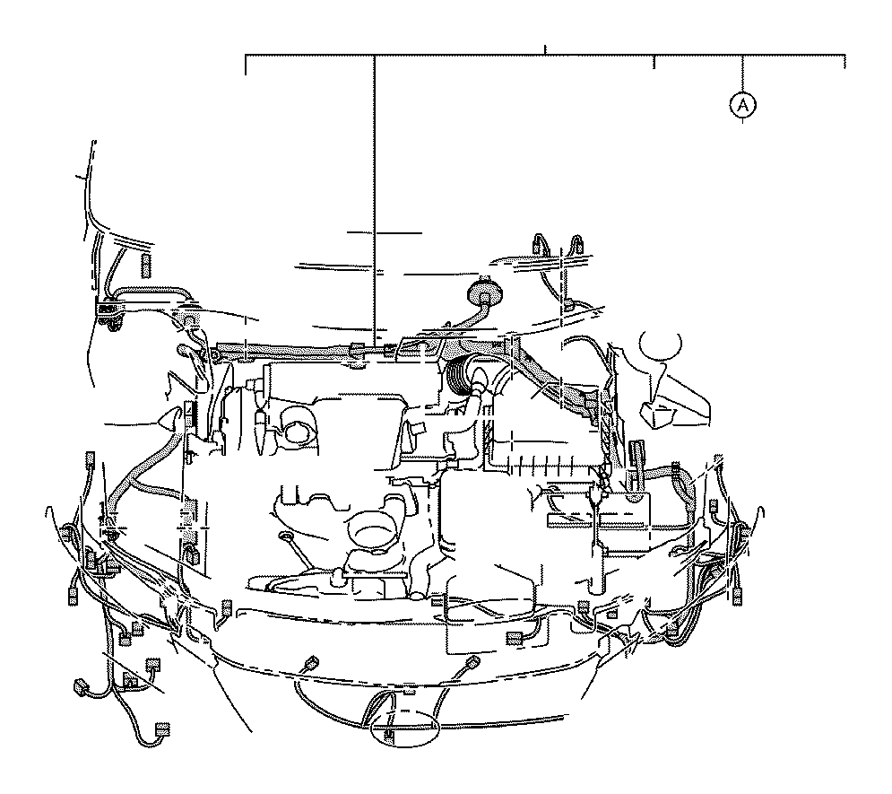 2014 Toyota Camry Connector, wiring harness. Ide