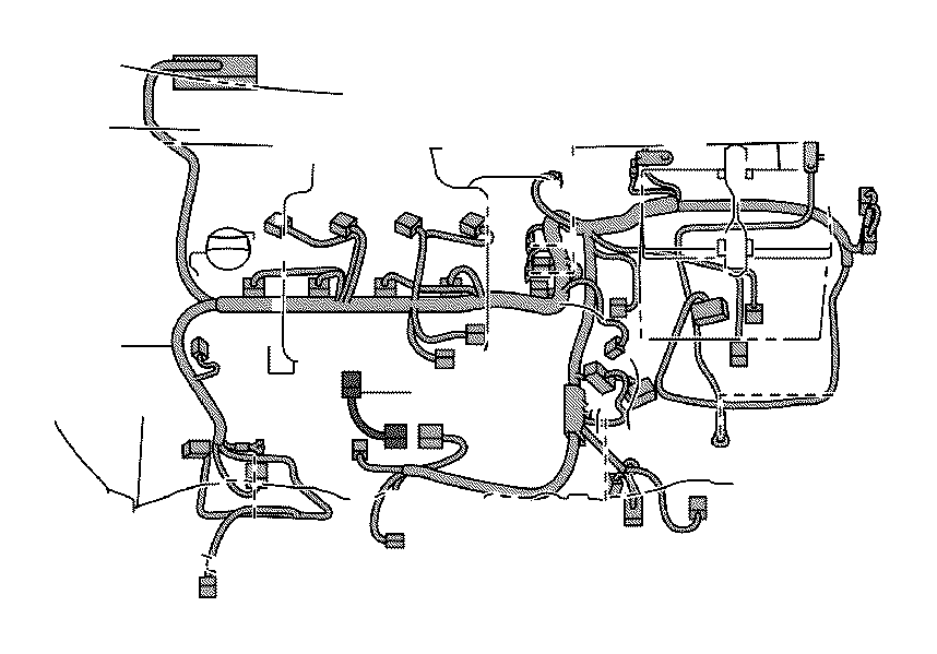 2010 Toyota Yaris Wire, sensor. Electrical, wiring