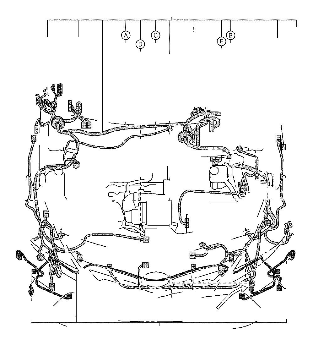2015 Toyota Prius v Connector, wiring harness. Headlamp