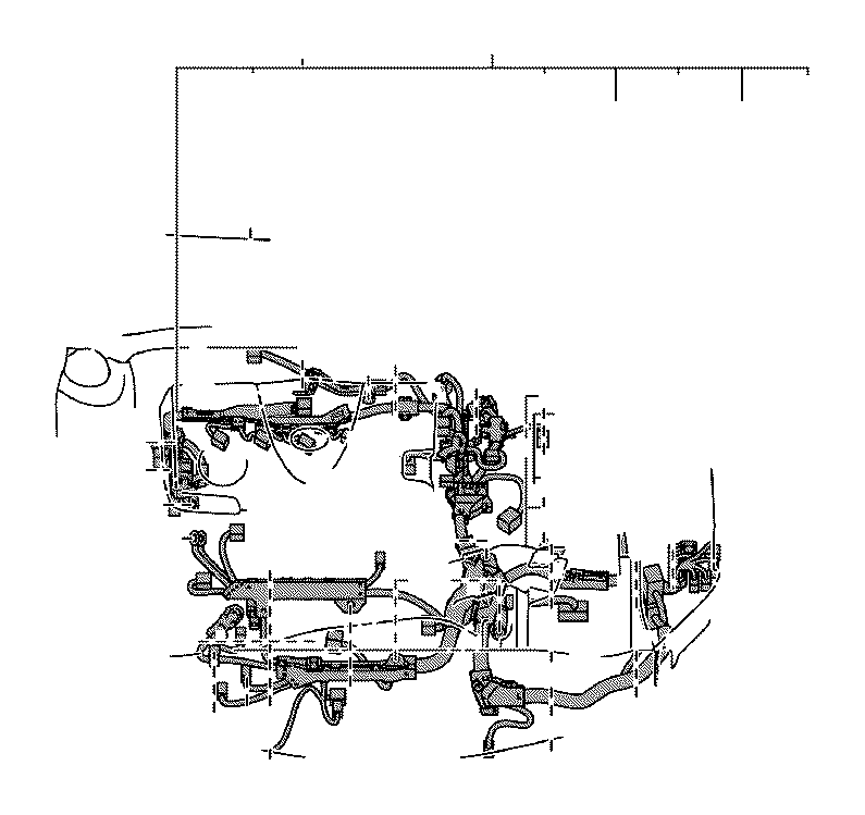 2018 Toyota Camry Cover, connector. Engine, room, clamp