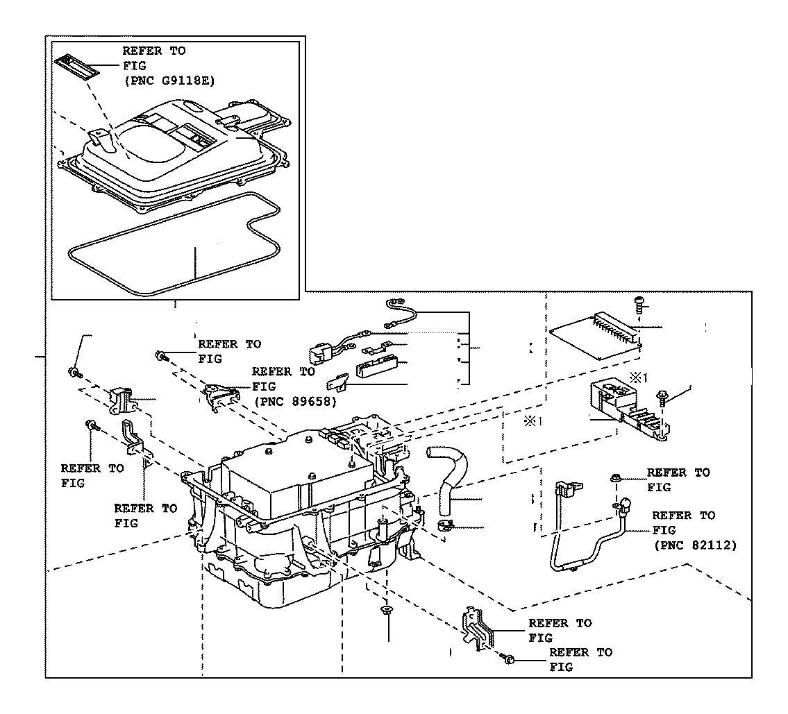 Toyota Highlander Fuse Electric Vehicle Electrical Battery
