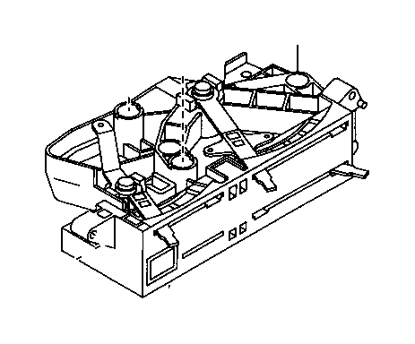 1993 Toyota T100 Cable sub-assembly, defroster damper
