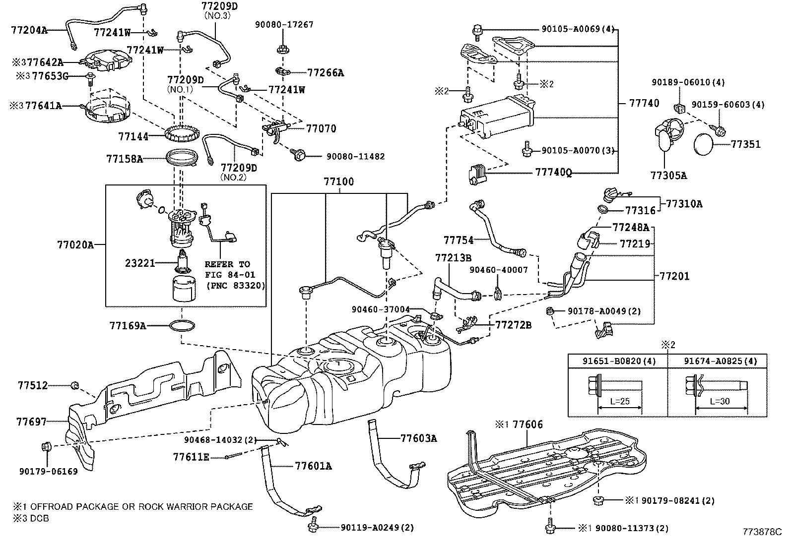 Toyota Tundra Pump; pump assembly. Fuel; fuel with filter