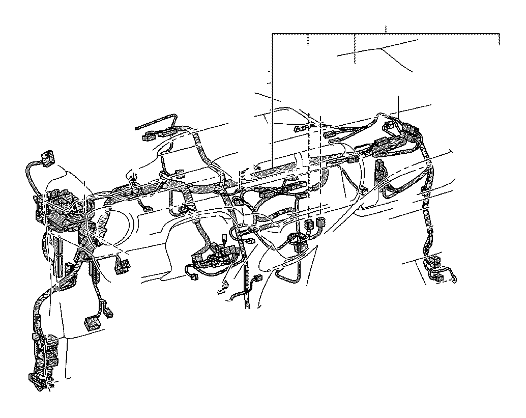 Toyota Prius c Wire, instrument panel. Connector, clamp