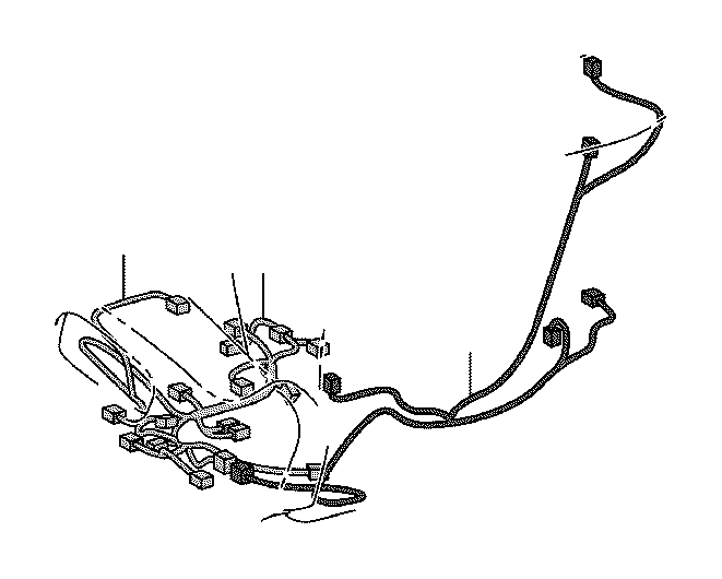 Toyota Camry Power Seat Wiring Harness (Left, Front, Rear
