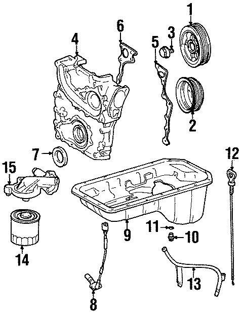 Toyota T100 Engine Crankshaft Position Sensor. Repair
