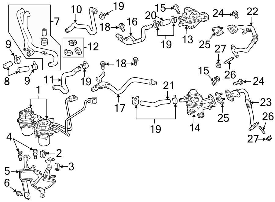 Toyota Tundra Air switch valve bolt. BOLT, WINDSHIELD