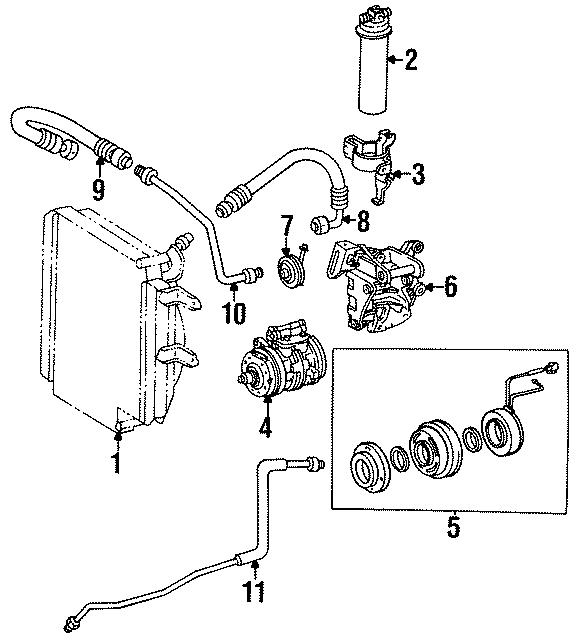 Toyota Tercel A/c compressor clutch. Clutch. Assembly