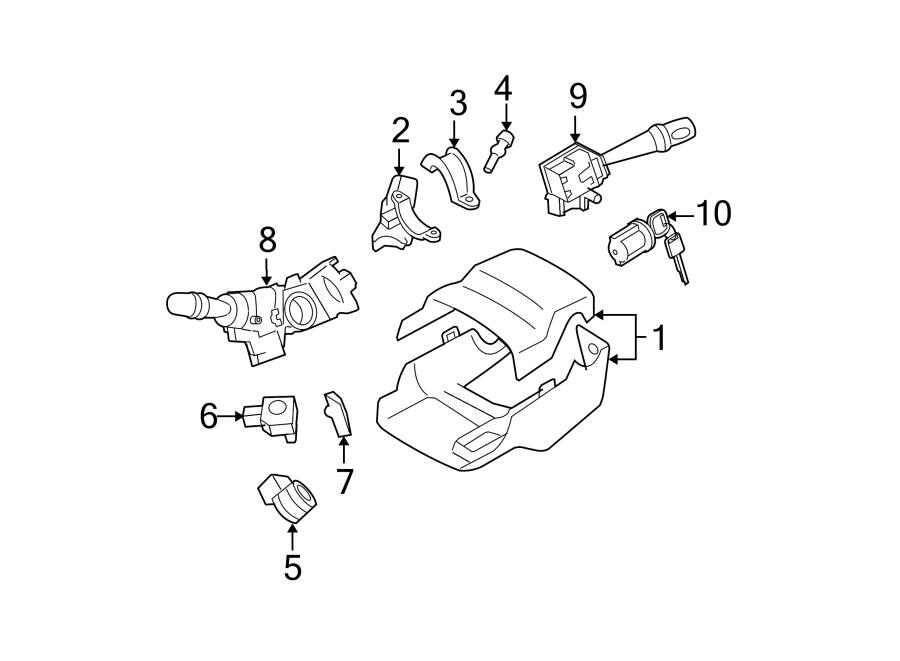 Toyota Yaris Ignition Lock Cylinder. Keys, Replace