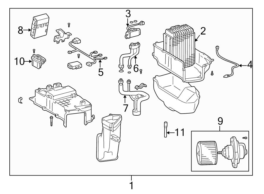 Toyota Land Cruiser Hvac control module. Faults, repair