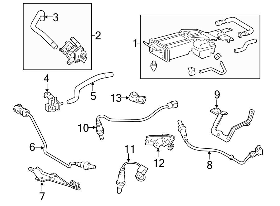 Toyota Highlander Oxygen Sensor. EMISSION, Make, Repair