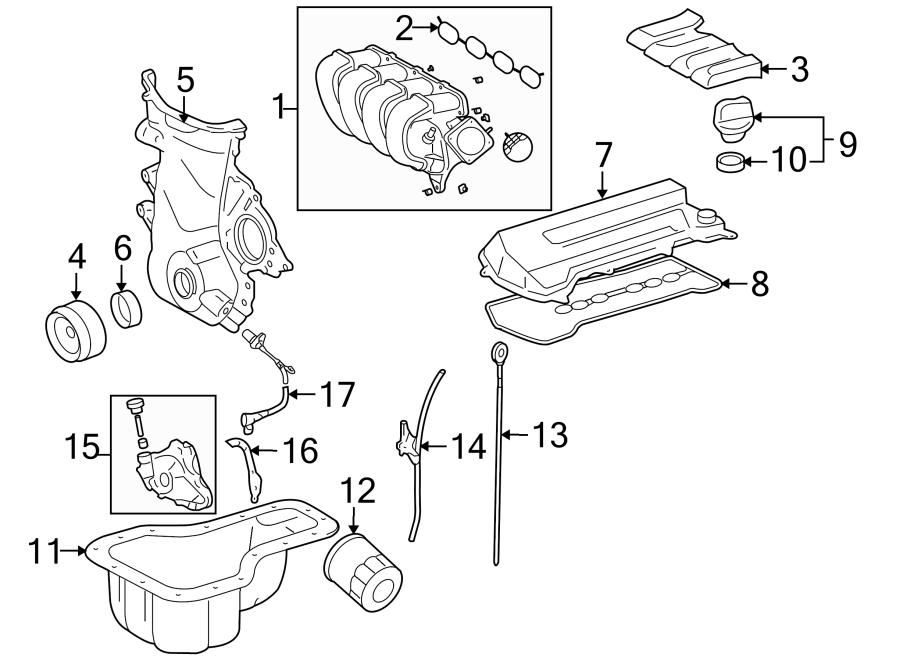 Toyota MR2 Spyder Engine Intake Manifold Gasket. 1.8 LITER