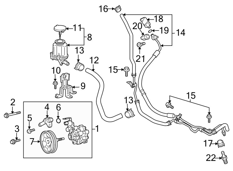 Toyota FJ Cruiser Power Steering Pump. POWER STEERING pump