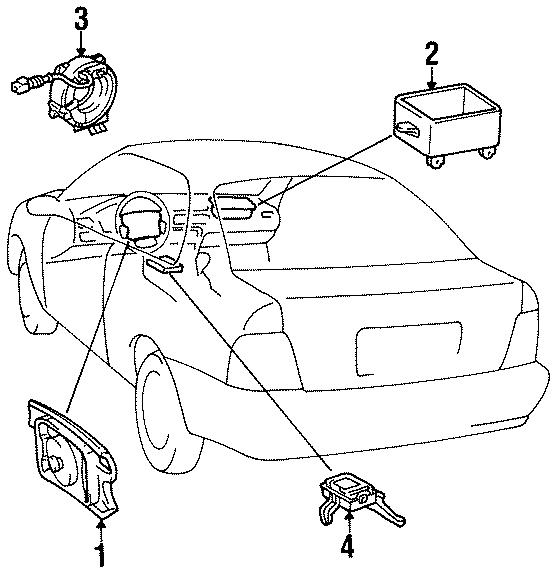 Toyota Paseo Diagnostic module. Diagnostic unit. Obs