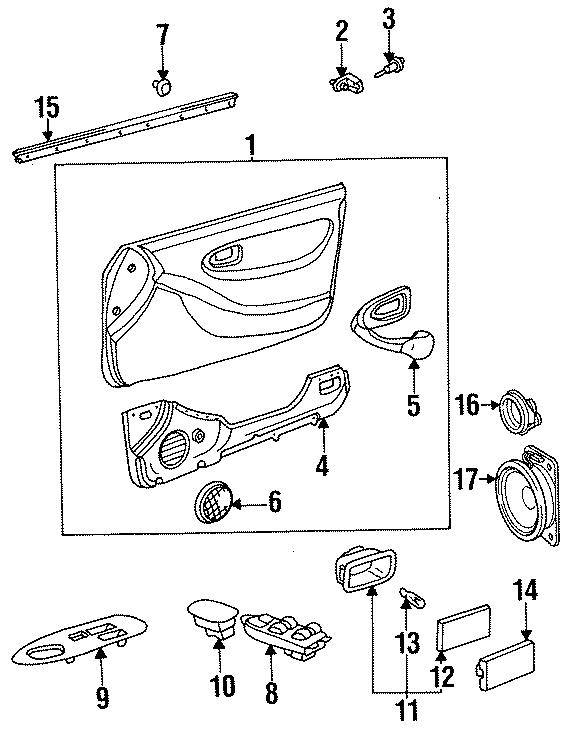 Toyota Celica Belt w'strip. WEATHERSTRIP ASSEMBLY, F. TRIM