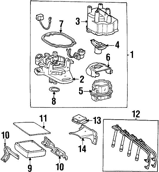 Toyota Celica Ecm bracket. Obs. 1.8 liter. 2.2 liter, 1994