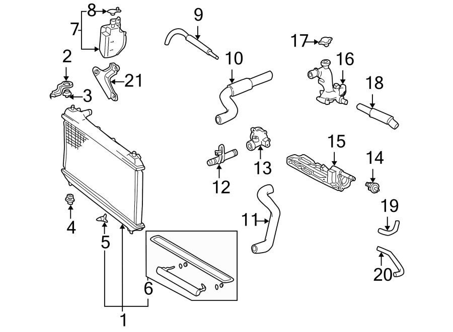 Toyota Tacoma Radiator Drain Plug. Auto trans. Cooling