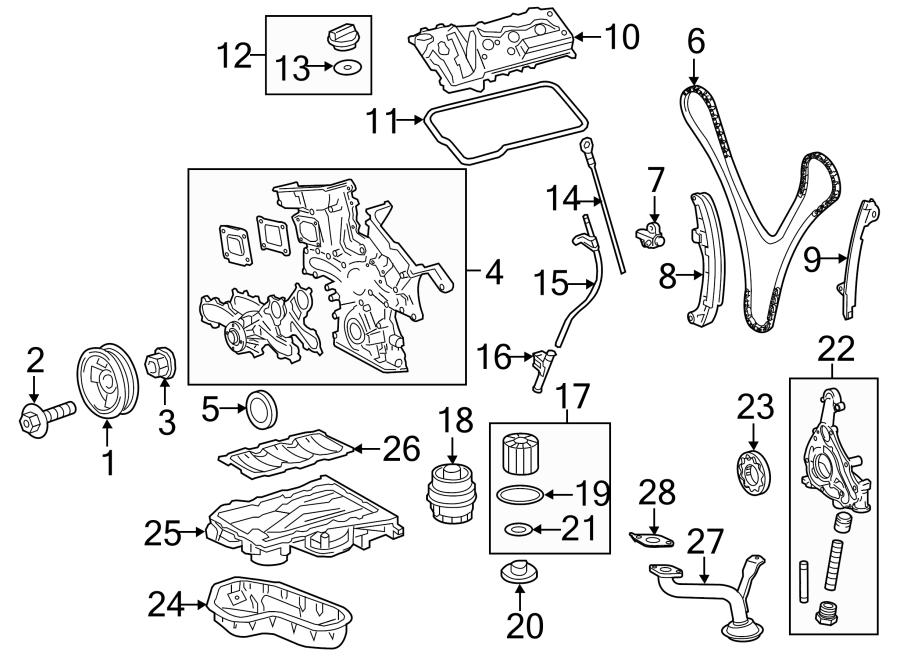 Toyota Avalon Engine Timing Chain Guide. Axxxxxx, Cxxxxxx