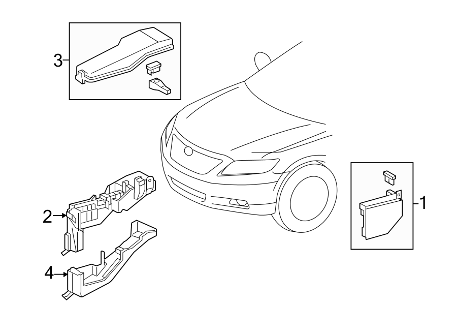 [DIAGRAM] Fuse Diagram For 1999 Toyota Camry Junction Box