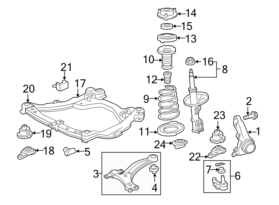 Toyota Camry Suspension Control Arm. Left, Causing, Arms