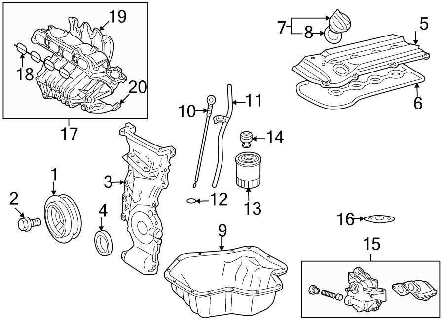 Toyota Camry Engine Crankshaft Pulley. Camry Hybrid. HS