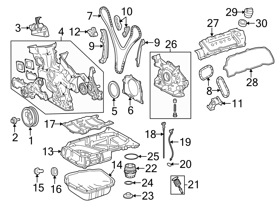Toyota Sienna Engine Crankshaft Seal. Built, LITER, Japan