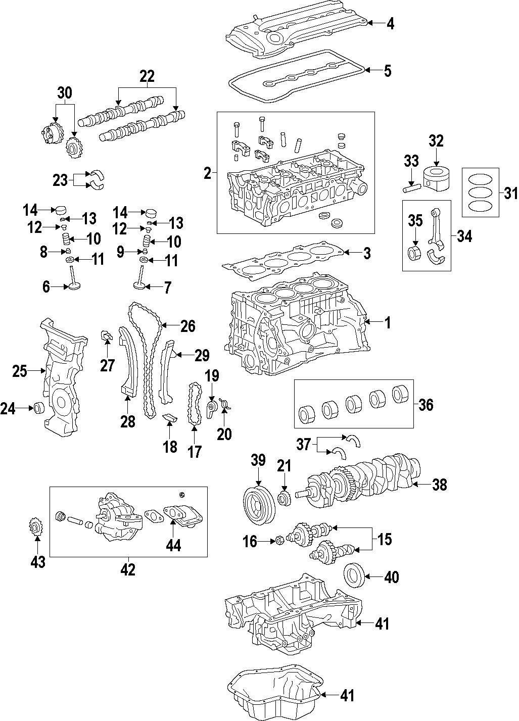 Toyota Corolla Engine Valve Stem Oil Seal. Scion; Toyota