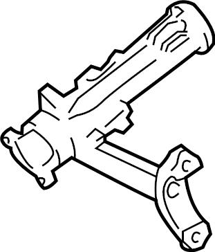 Toyota Tundra Steering Column Bracket. MANUAL TRANS