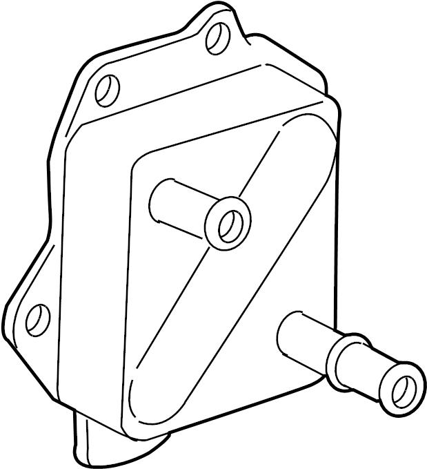 Toyota Tundra Engine Oil Cooler. LITER, Cruiser, Land