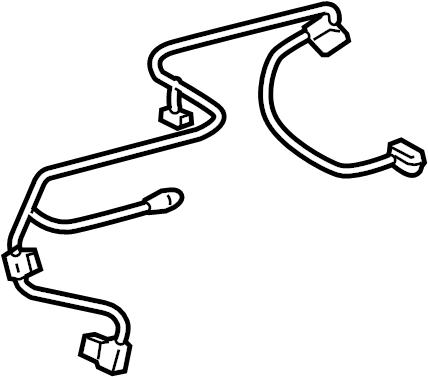Toyota Tundra Hvac system wiring harness. 4.0 liter. 4.6