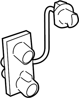 Toyota Yaris Tail Light Socket. HATCHBACK. LAMPS