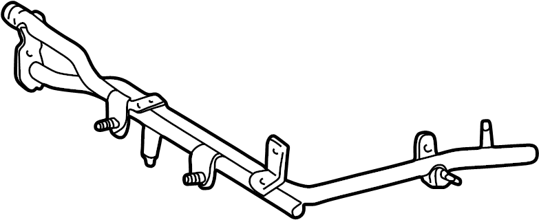Toyota RAV4 Engine Coolant Bypass Pipe. Engine Coolant