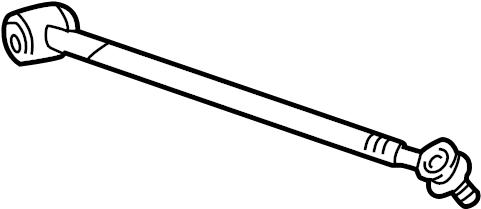 1998 Toyota RAV4 Suspension Control Arm (Rear, Upper
