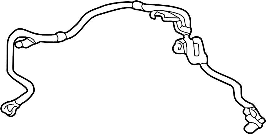Toyota Tacoma Abs wheel speed sensor. Left, brake