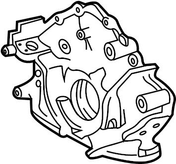 Toyota Sequoia Engine Oil Pump. LITER, Pressure, BEARINGS