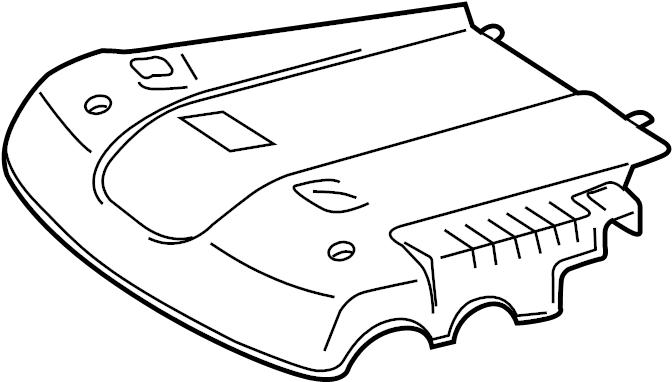 Toyota FJ Cruiser Engine Cover. 2007-09. 4.0 LITER