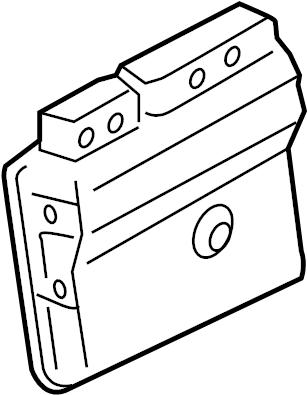 Toyota Matrix Engine Control Module. Trans, Manual, LITER