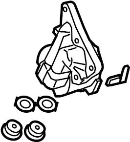 Toyota Prius Prime Oil. Filter. Housing. Engine. BRACKET