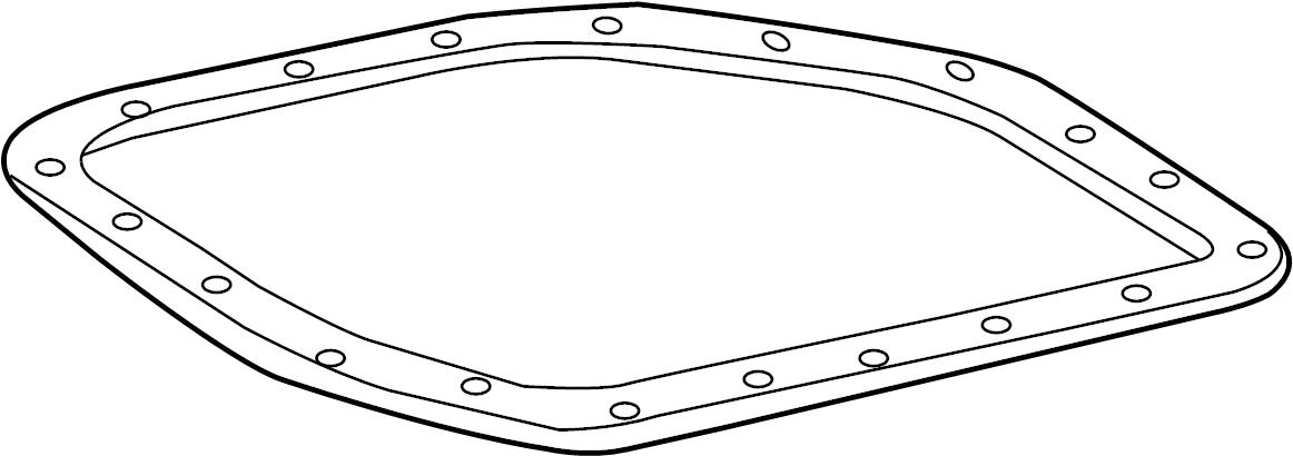 Toyota Celica Gasket, transaxle oil. Transmission pan