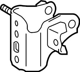 Toyota Corolla Engine Mount Bracket (Front, Rear, Upper