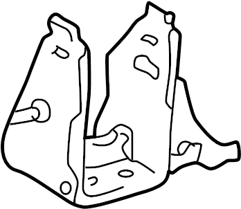 Toyota RAV4 Automatic Transmission Mount Bracket (Front