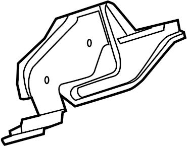 Toyota Sequoia Junction Block Bracket. CABIN COMPARTMENT
