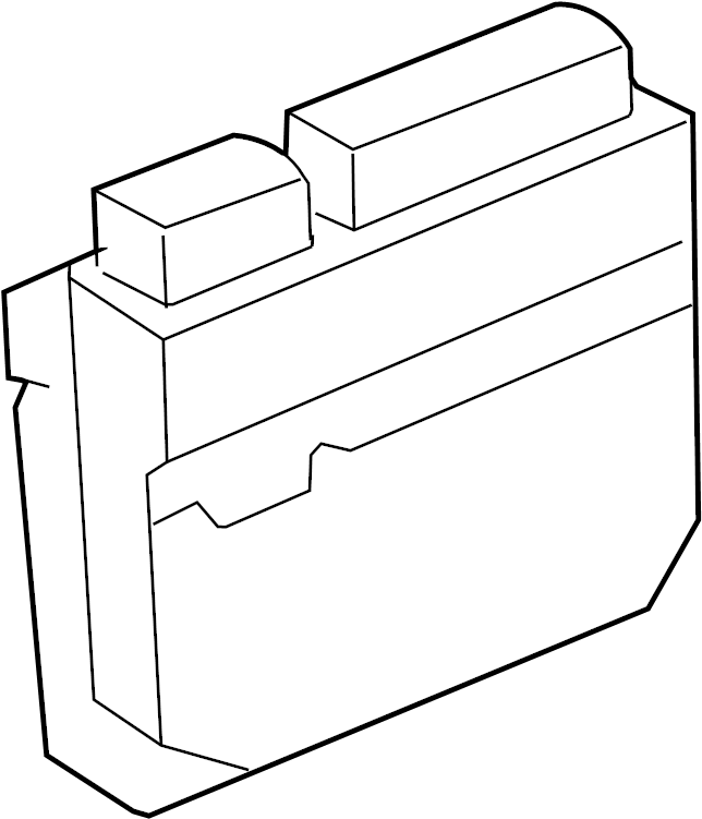 Toyota Matrix Engine Control Module. 2.4 LITER, 2WD, auto
